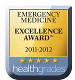 Healthgrades Emergency 5 Star Recipient