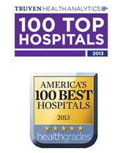 Holland Hospital has the distinction of being the only hospital in West Michigan to receive two of our nation's top hospital quality awards: America's 100 Best Hospitals from Healthgrades, and 100 Top Hospitals from Truven Health Analytics (formerly Thomson Reuters).
