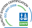DNV Quality System Certification ISO 9001:2008