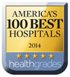 Healthgradeds America's 100 Best Hospitals 20014